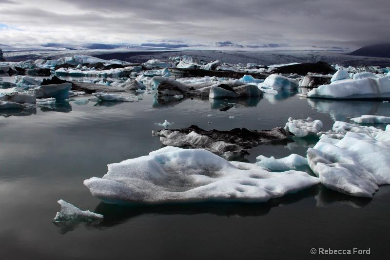 Glacier lake Jokulsarlon, Iceland
