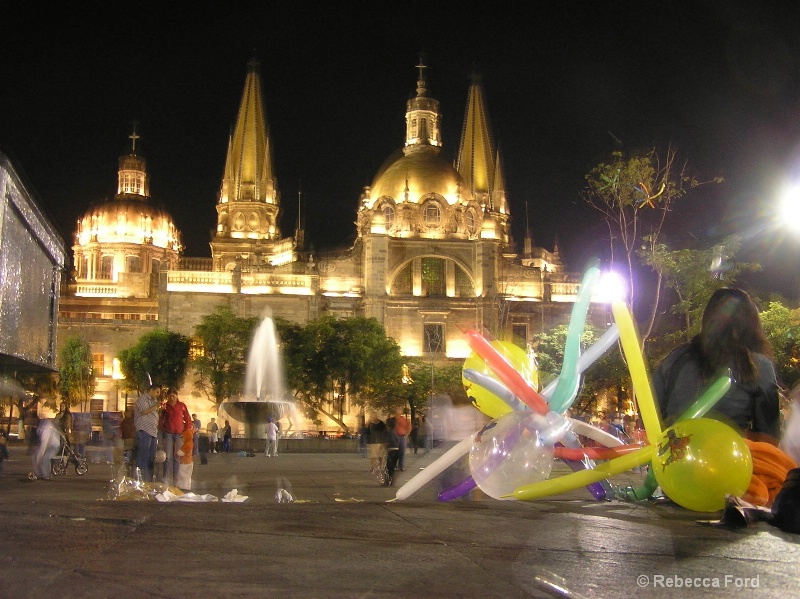 Guadalajara at Night