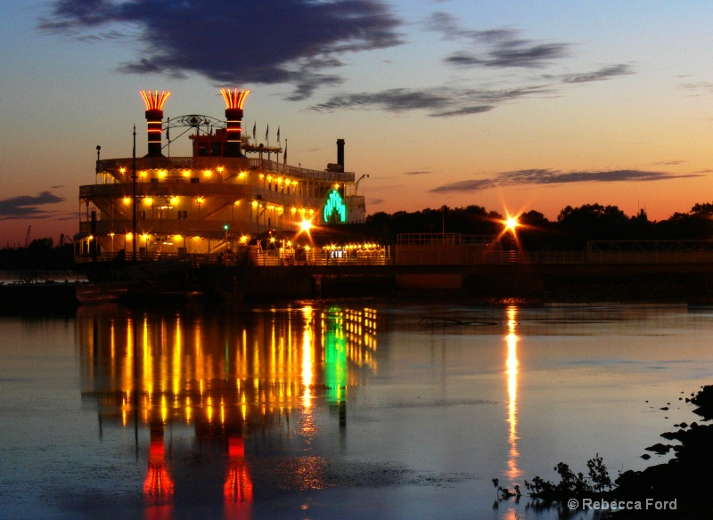 Steamboat, Mississipppi River