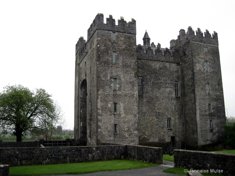 Bunratty on a cloudy day
