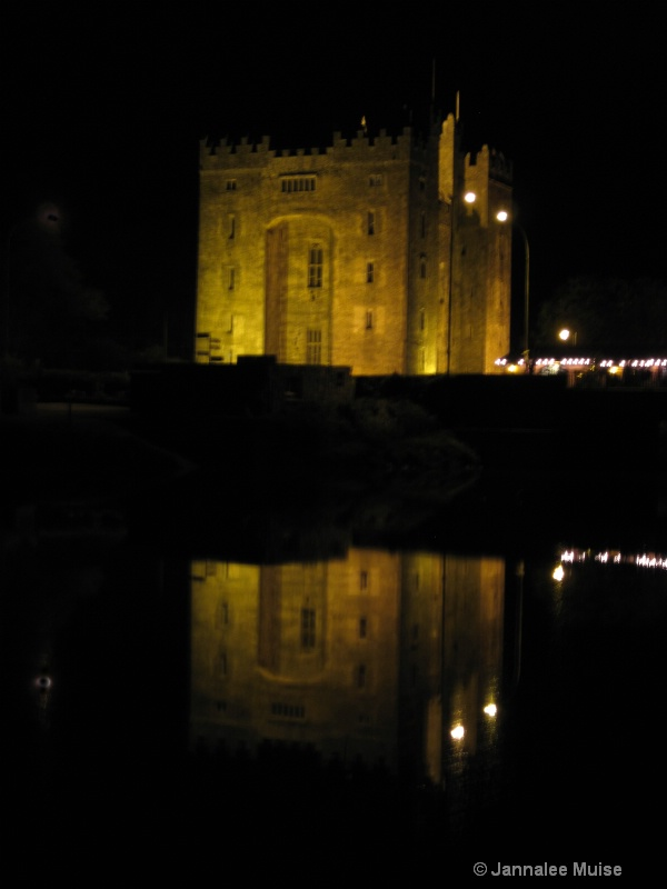 Bunratty Castle reflections