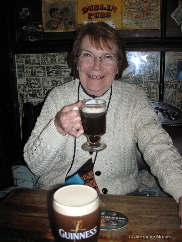 Mom at the Brazin Inn