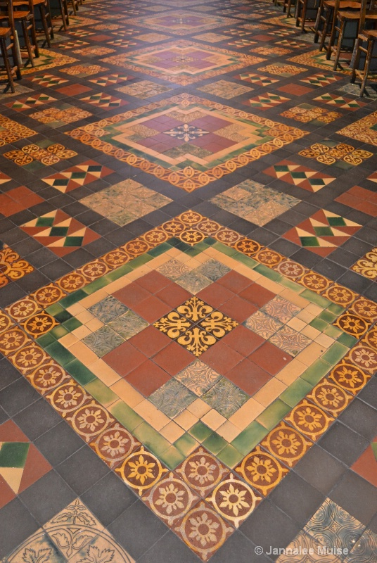 St Patrick's floor tiles