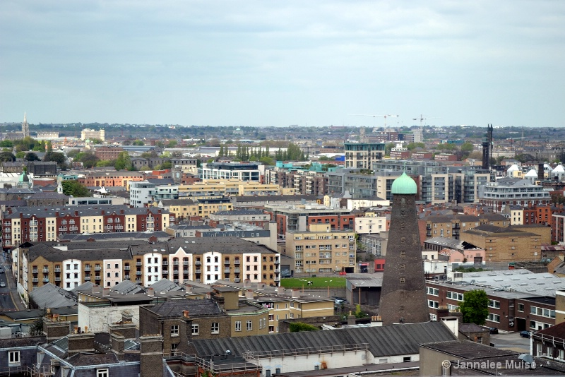 Gravity Bar view of Dublin