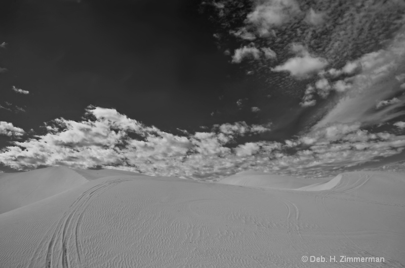 A Swirl of Sand into Sky