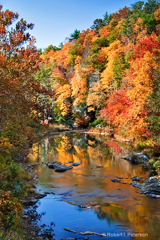 Fall on the Linville River