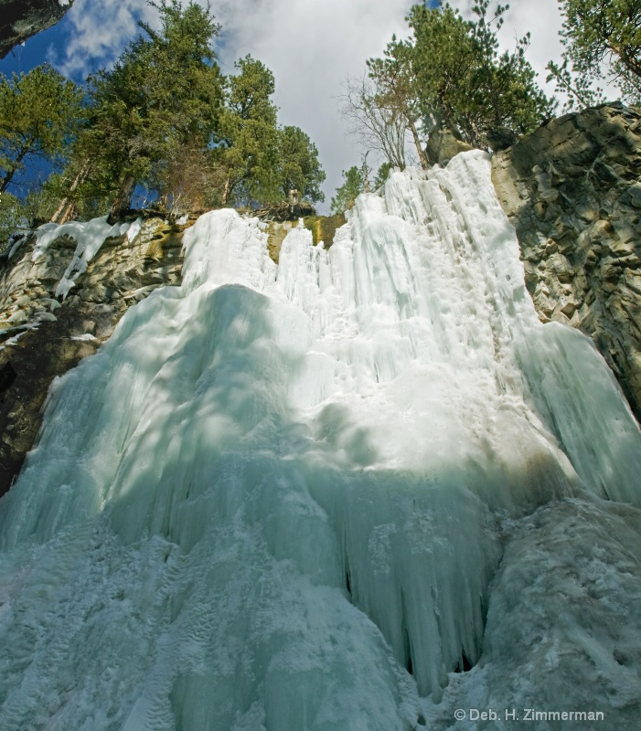 Hidden Waterfall of Ice