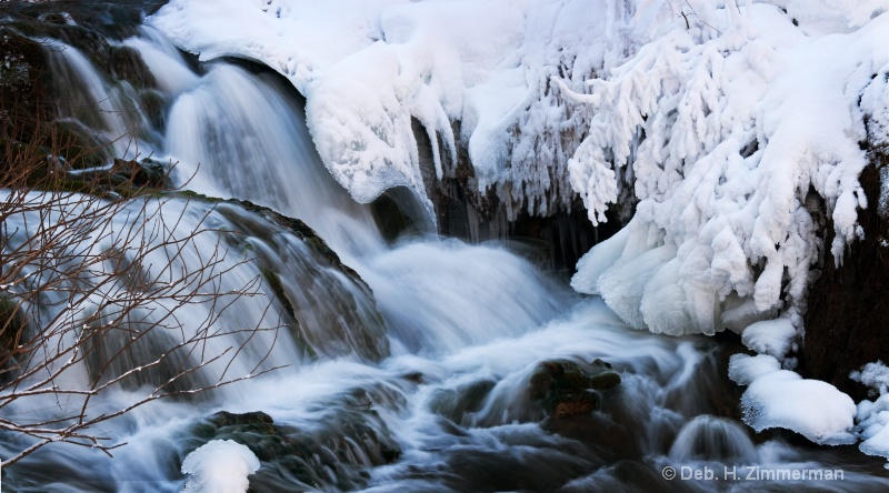 Icy Stream Panoramic