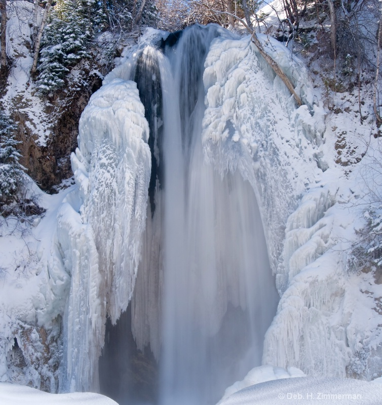 Lil Spearfish Falls  Icy Beauty