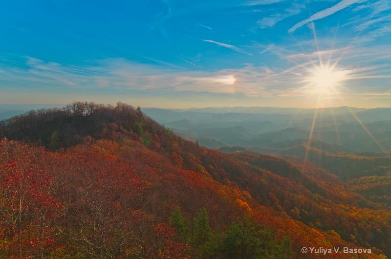 Sundog over the Blue Ridges, 10-30-2010<p>