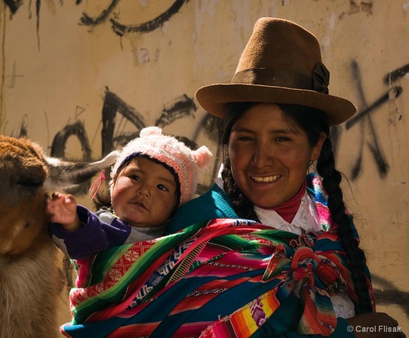 A Cusco Street Encounter ~ Peru