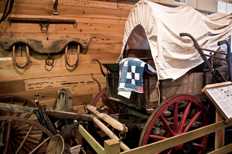 The Drinkard's Covered Wagon