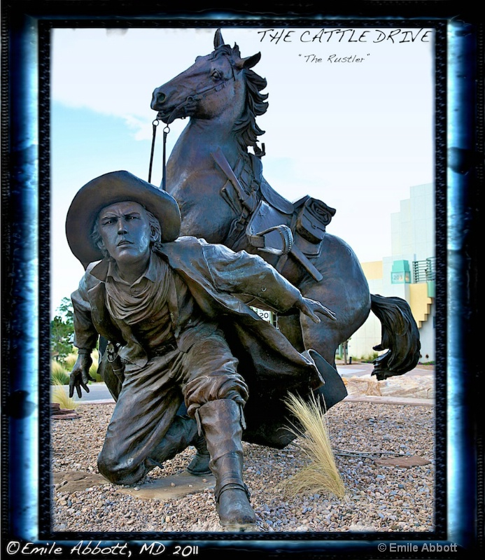 """The Cattle Drive Trilogy """"The Rustler"""""""