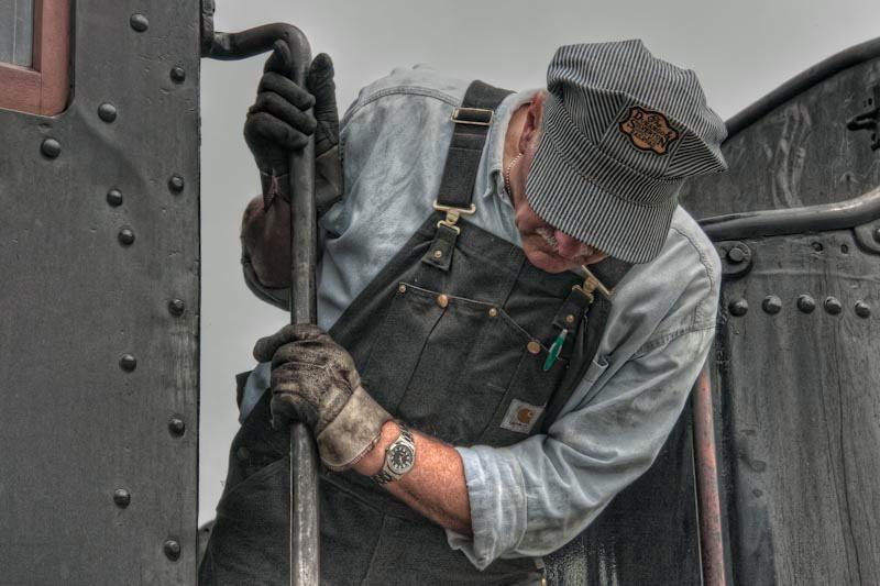Strasburg Railroad Engineer