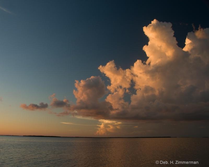 Florida Keys clouds at Sunset