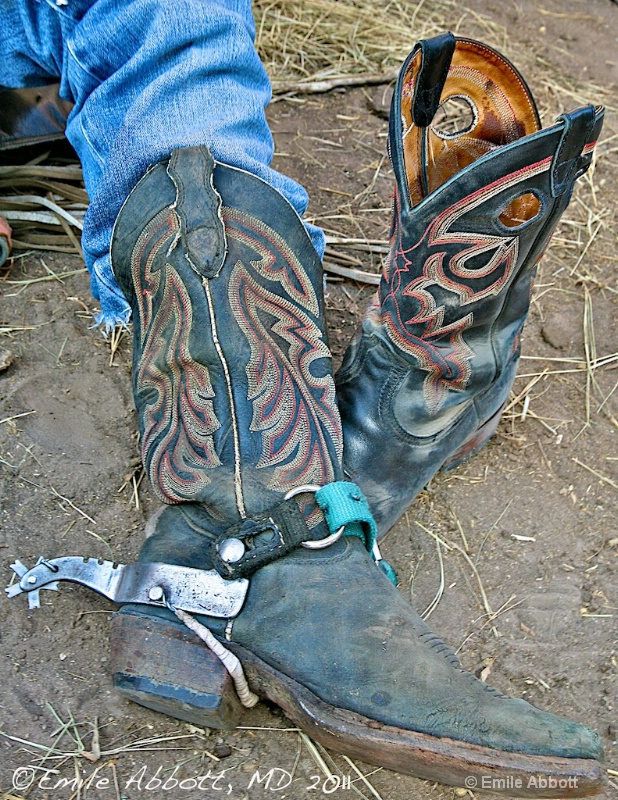 Boots and Spur