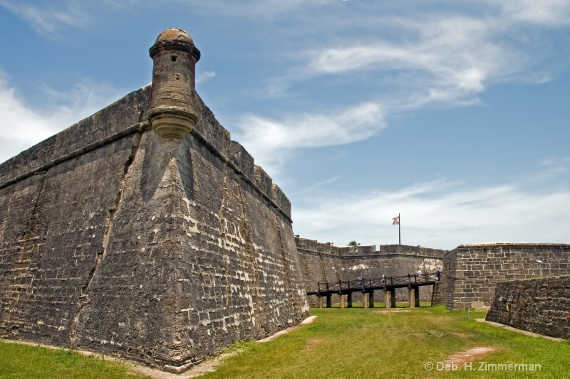 Ramparts of Castillo de San Marcos