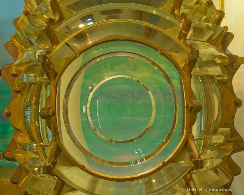Retired Key West Lighthouse Lens