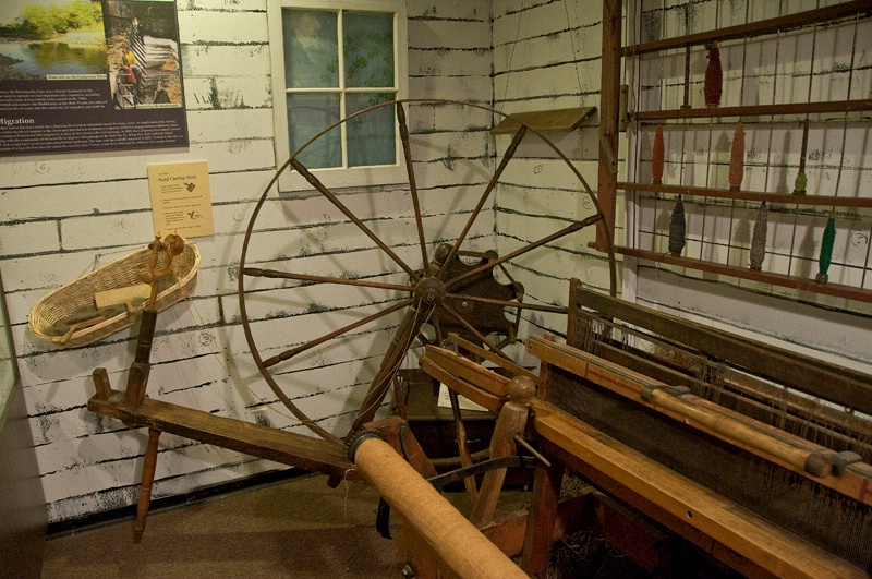The Spinning Wheel and Loom