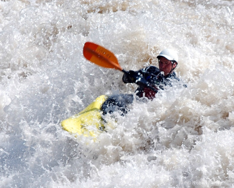 Digging in the Whitewater