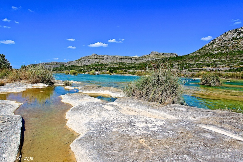The Devil's River topography