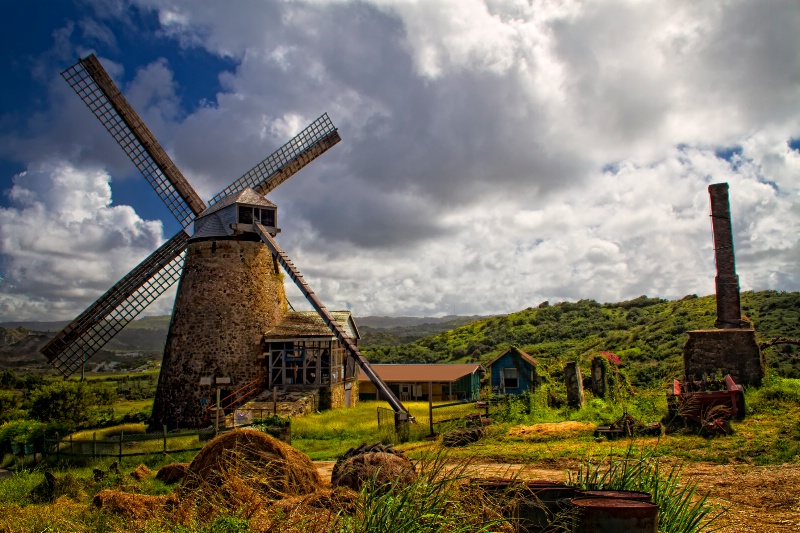 The Old Mill of Barbados