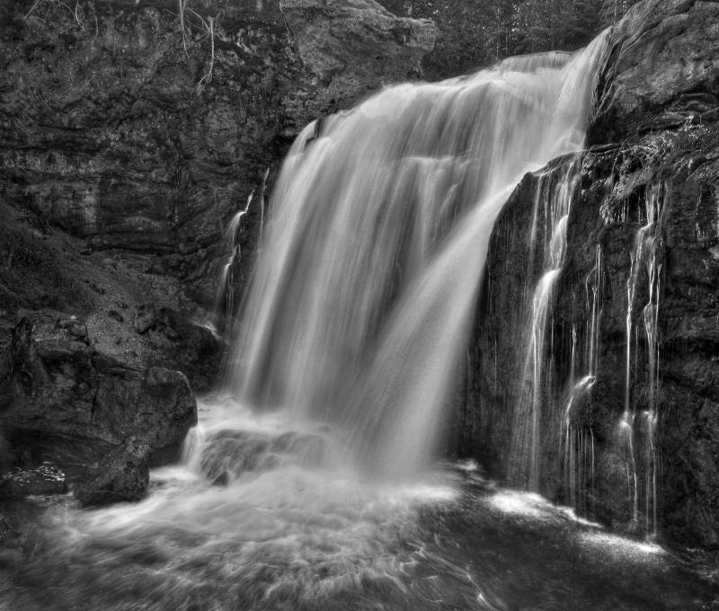Falls on Crawfish Creek
