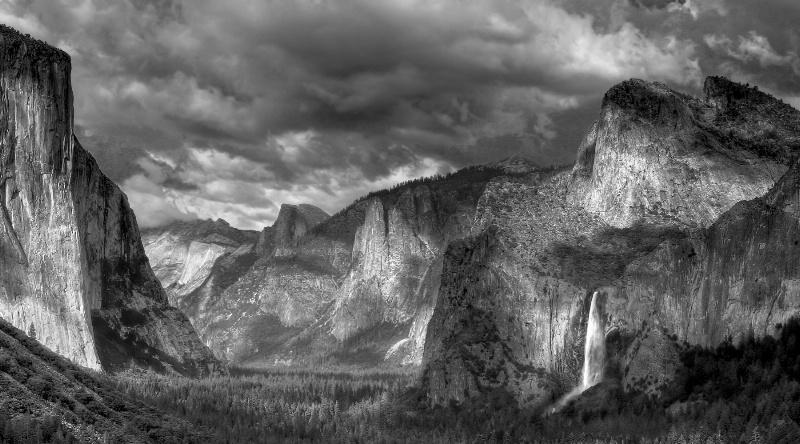 Yosemite Valley in Broken Light
