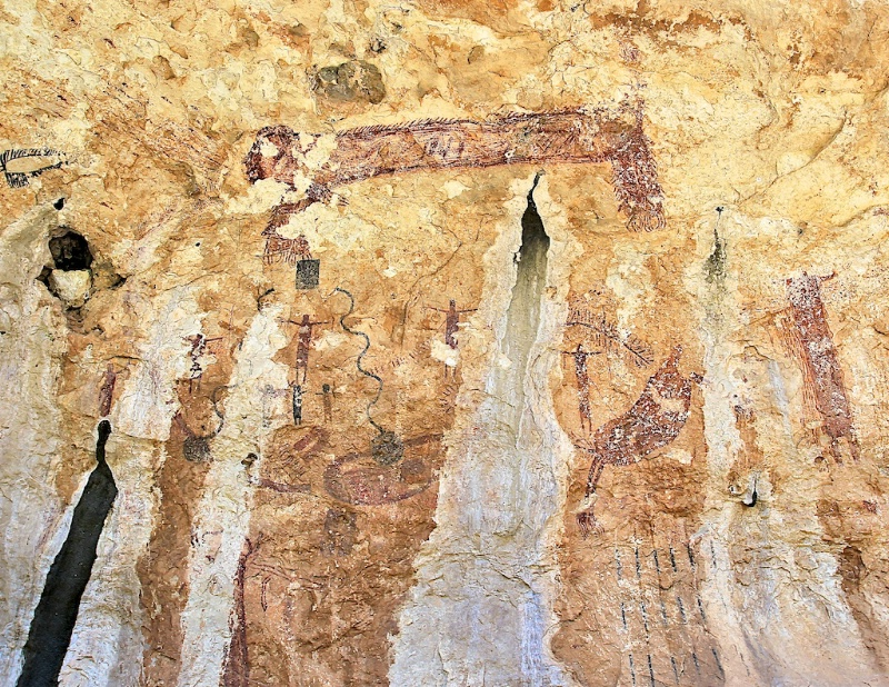 Original Pictograph from Mystic Shelter
