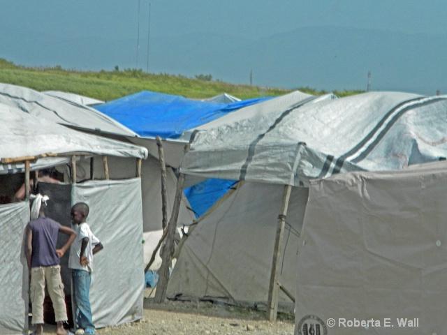still tent cities