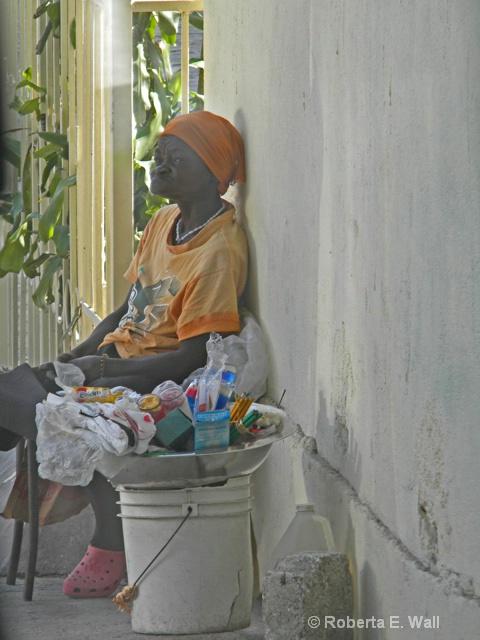 woman in petionville