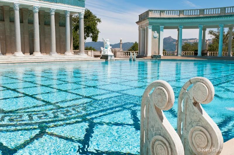 Outdoor pool - Hearst Castle, San Simeon, CA