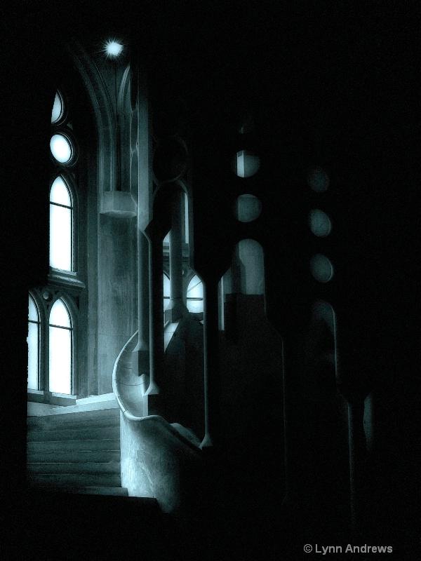 Sagrada Familia Dark Passage