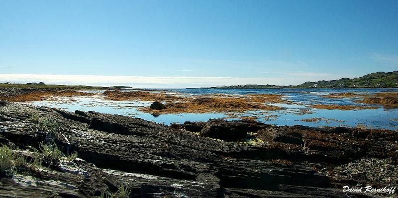 Sea, Rocks and Land