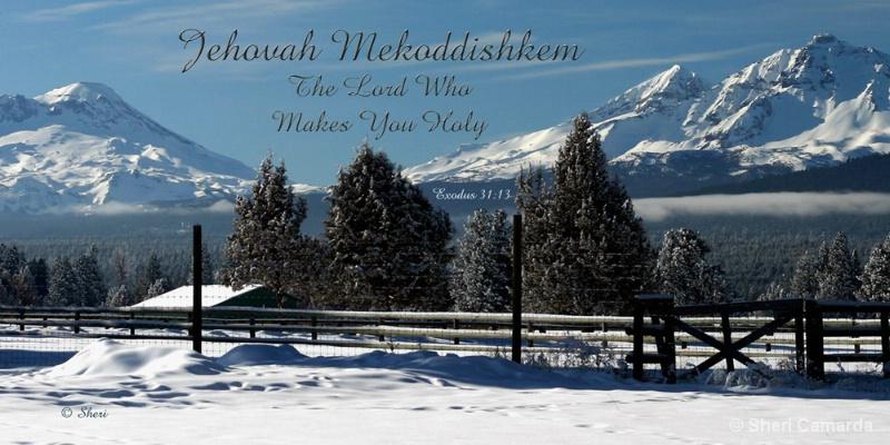 Jehovah Mekoddishkidem  - S 017