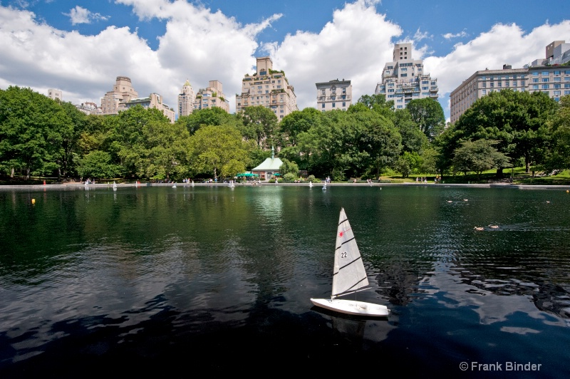 Reflecting Pond; Central Park