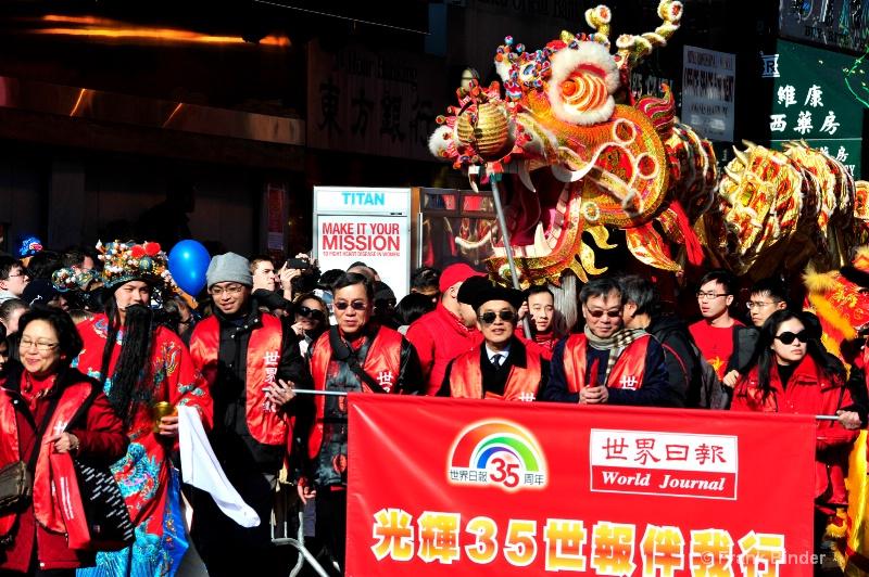 Lunar New Year; Chinatown