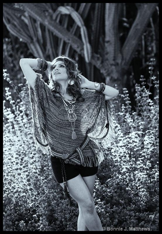 Gypsy Blayke Loving the Sun