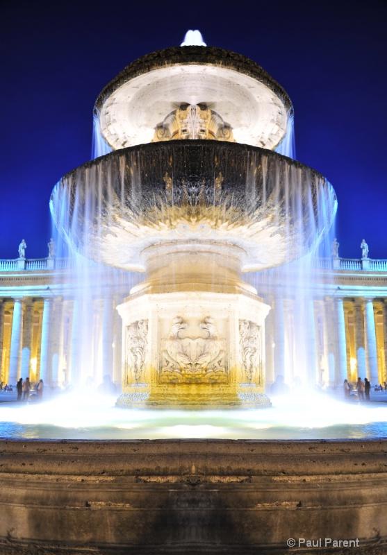 Vatican City Fountain