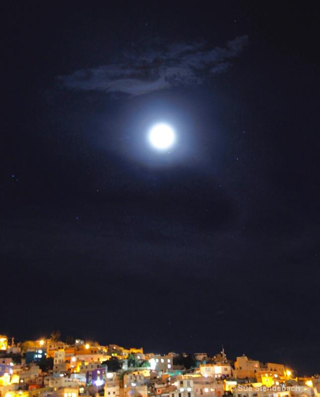 Full Moon Over Guanajuato, Mexico