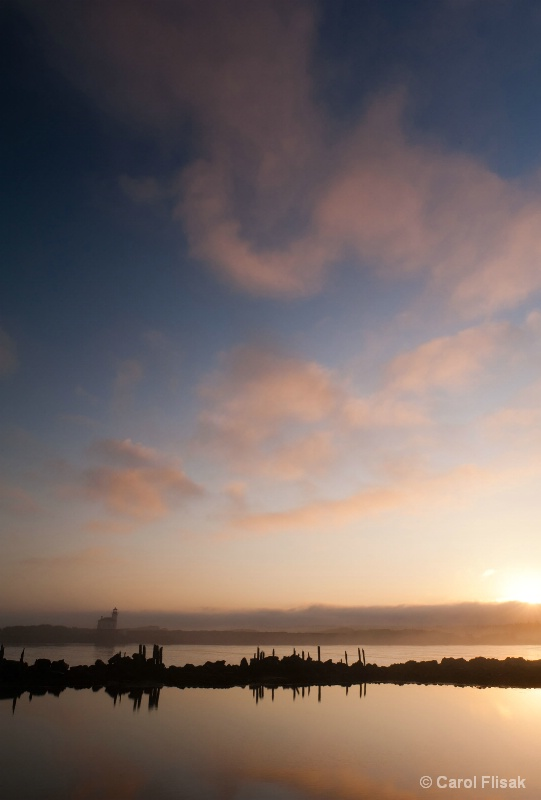Coquille Lighthouse Sunrise