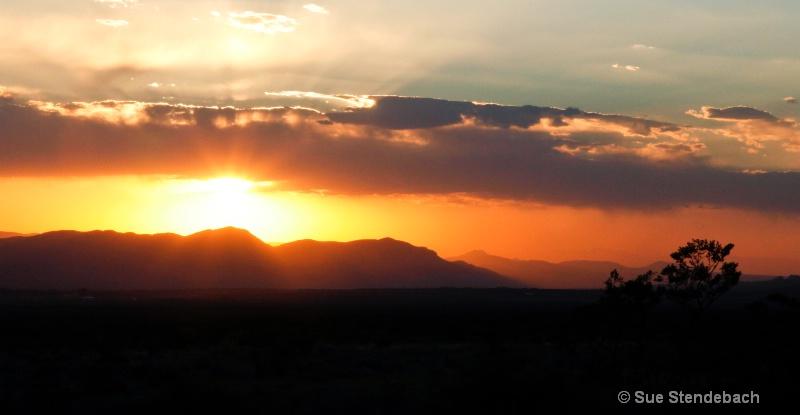 Bold Sunset, Las Cruces, NM