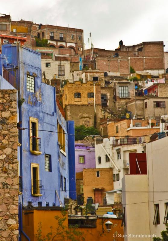 Hillside Homes, Guanajuato, Mexico