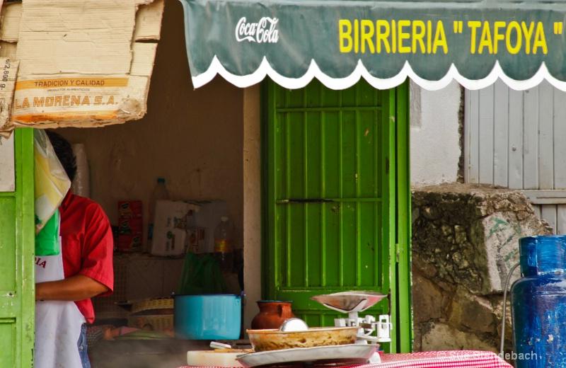 Preparacion de Almuerzo, Guanajuato, Mexico