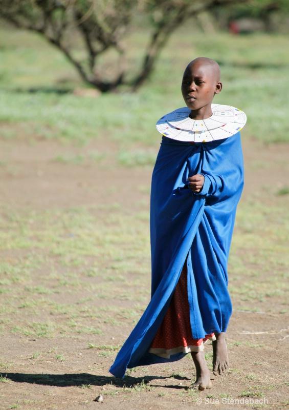 Young Girl, Masai Village, Tanzania