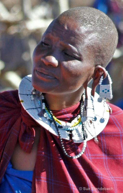 Watching Intently, Masai Village, Tanzania