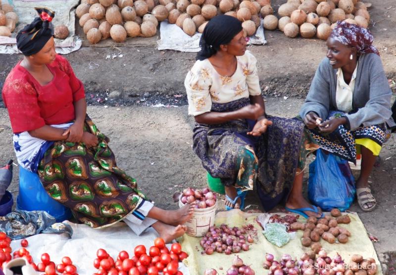 Market Cameraderie, Arusha, Tanzania