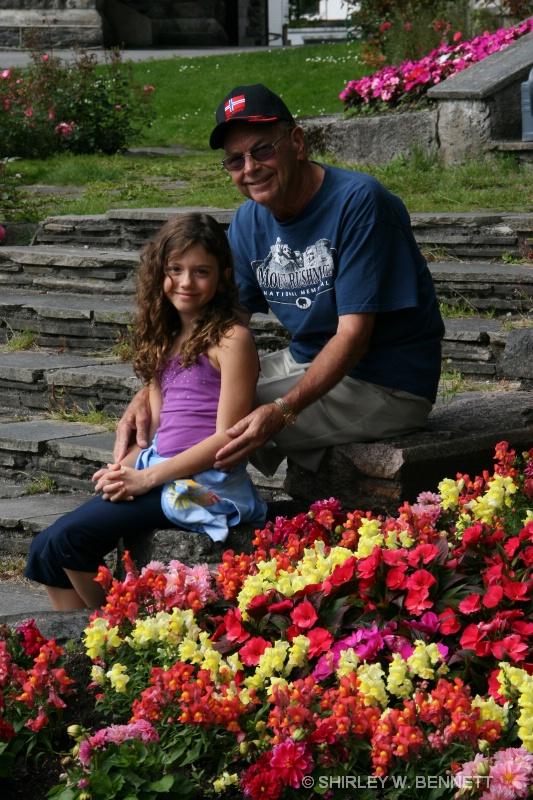 SAVANNA AND WARREN IN BERGEN, NORWAY
