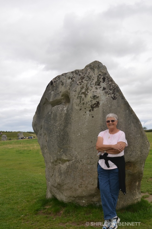 YOURS TRULY AT CIRCLE OF STONES