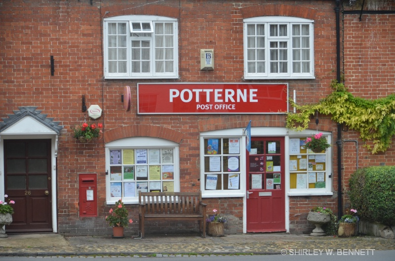 SITE OF PRESENT POST OFFICE IN POTTERNE